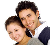 Happy couple portrait Royalty Free Stock Images
