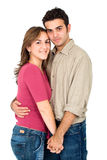 Happy couple portrait Stock Images
