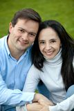 Happy couple portrait Royalty Free Stock Photography