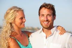 Happy couple portrait Stock Photo