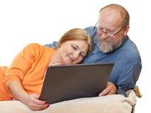 The happy couple Stock Photo