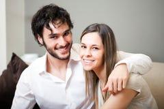 Happy couple portrait Royalty Free Stock Image