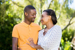 Happy couple posing together Royalty Free Stock Photo