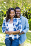 Happy couple posing together Royalty Free Stock Photos