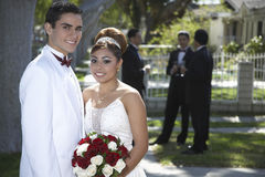 Happy Couple At Quinceanera Royalty Free Stock Photos