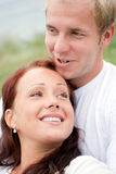 Happy couple relaxing Stock Photography