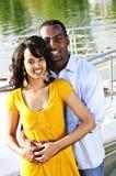 Happy couple at seaside Royalty Free Stock Photo