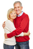 Happy couple of senior citizens Royalty Free Stock Photo