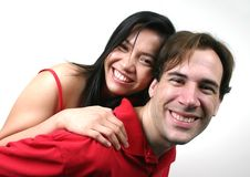 Happy couple (series) Stock Photos