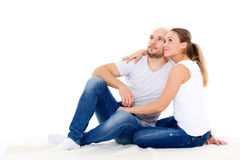 Happy couple. Royalty Free Stock Photo