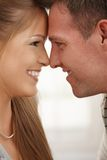 Happy couple smiling Royalty Free Stock Images
