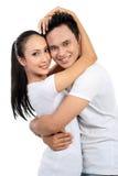 Happy couple smiling Royalty Free Stock Photo
