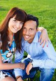 Happy couple Stock Images