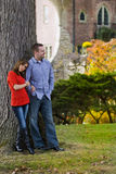 Happy couple spending time together Stock Images