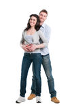 Happy couple together Royalty Free Stock Photo