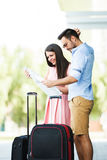 Happy Couple Traveling Royalty Free Stock Photography