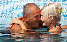 Happy couple on vacation Royalty Free Stock Photo