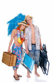 Happy couple, vacation Stock Photography