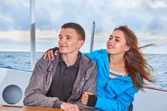 Happy couple woman and man Royalty Free Stock Images