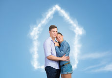 Happy couple Stock Image