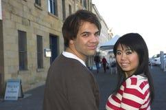 Happy couples royalty free stock photo