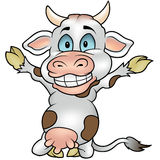 Happy Cow Stock Photography