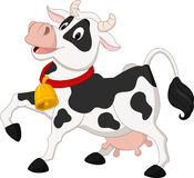Happy cow cartoon Stock Photo