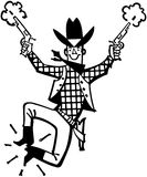 Happy Cowboy Royalty Free Stock Photo