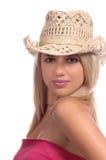 Happy Cowgirl Stock Photos