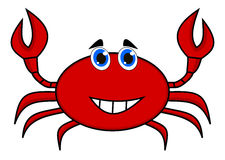 A happy crab red Stock Photo