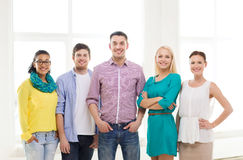 Happy creative team in office Stock Photography