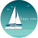 Happy cruise Stock Photography