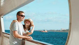 Happy cruise! Stock Images