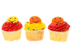 Happy Cupcakes Stock Photography
