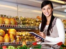 Happy customer Stock Image