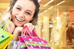 Happy customer Stock Photo