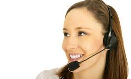 Happy Customer Representative royalty free stock image