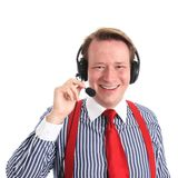 Happy customer service Royalty Free Stock Images