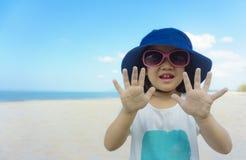 Happy cute asian girl Stock Photos