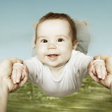 Happy cute baby Royalty Free Stock Images