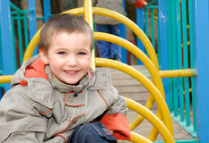 Happy cute boy Royalty Free Stock Images
