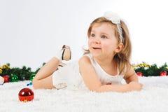 Happy Cute Girl Stock Photography