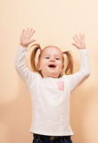Happy Cute Girl Royalty Free Stock Photos