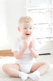 Happy cute little boy Royalty Free Stock Photos