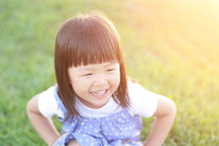 Happy Cute little girl Royalty Free Stock Images