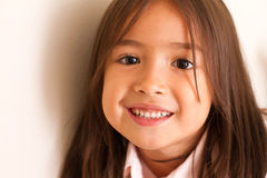 Happy cute little girl Royalty Free Stock Photography