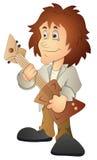 Rockstar - Cartoon Character - Vector Illustration Royalty Free Stock Image