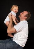 Happy daddy Stock Photography