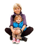 Happy daughter and mother Stock Photography