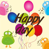 Happy day Stock Images